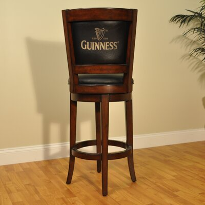 Guinness 30 Swivel Bar Stool