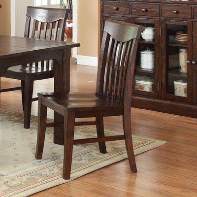 Gettysburg Slat Solid Wood Dining Chair (Set of 2)