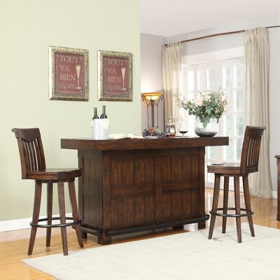 Complete Gettysburg Bar Table Set