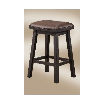 Lexington Series 24 Saddle Bar Stool (Set of 2)