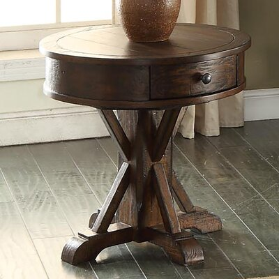 Tremper End Table With Storage