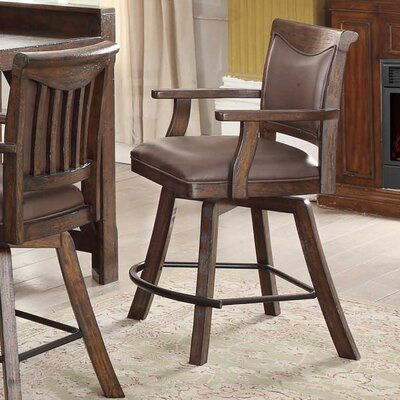 Gettysburg 30 Swivel Bar Stool (Set of 2)