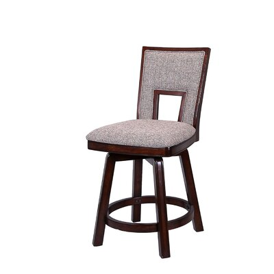 Autumn Winds 24 Swivel Bar Stool (Set of 2)
