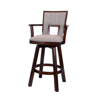 Autumn Winds 30 Swivel Bar Stool (Set of 2)