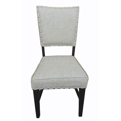 Duncan Dining Chair (Set of 2) Upholstery Color: Beige