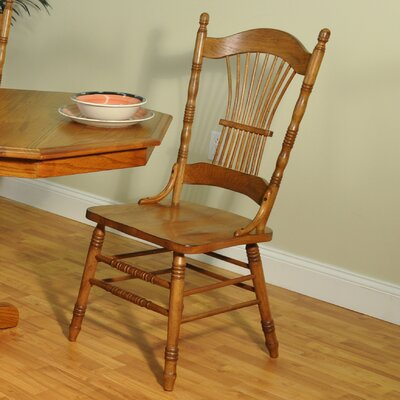 Furniture rental Burnished Sheaf Side Chair...