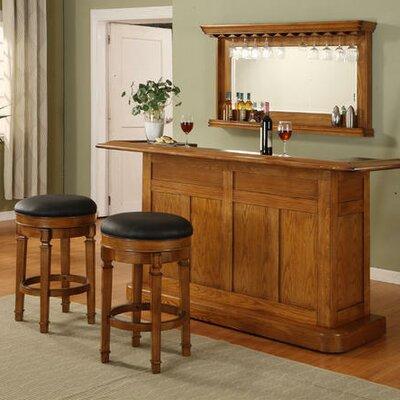 Nova Home Bar Set with Bar Stools
