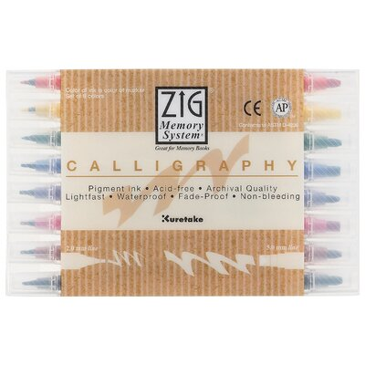 Calligraphy Marker (8 Pack) MS-3400/8V