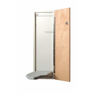 Economy Surface Mount Built-in Ironing Board Color: No Door, Door Hinge: Left Hand NE228U-L