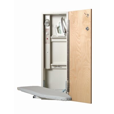Iron-a-Way Deluxe Built In Ironing Center - Hinge: Left Hand, Door Finish: Mirror at Sears.com