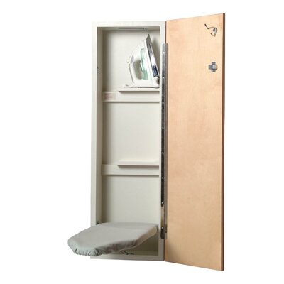 Iron-a-Way Built In Non Electric Ironing Center - Hinge: Right Hand, Swivel Option: No, Door Finish: Pine at Sears.com