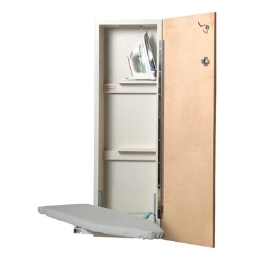 Iron-a-Way Ironing Center - Hinge: Right Hand, Swivel Option: Yes, Door Finish: Oak at Sears.com