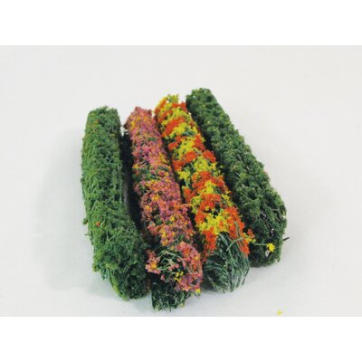 Architectural Model Flower Hedges (Set of 2) WS00305