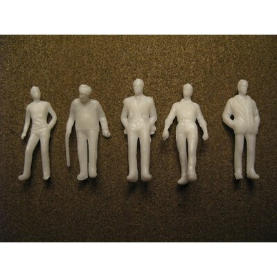 """Architectural Model 1/4"""" Male Figures (Set of 2) WS00373"""