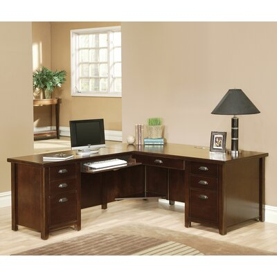 Tribeca Loft Left L-Shaped Computer Desk Product Image 107