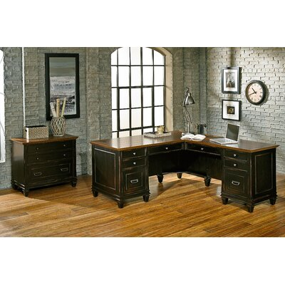 L Shaped Desk Office Suite Hartford Product Picture 501