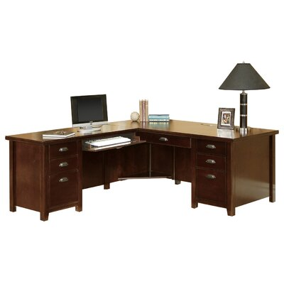 Money saving Loft Left Executive Desk Product Photo