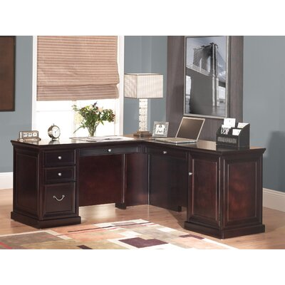 Fulton Right Hand Facing L-Shaped Executive Desk Product Picture 4826