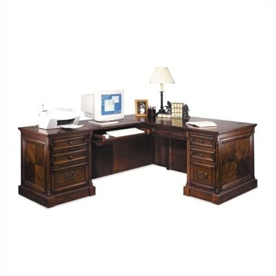 View L Shape Computer Desk Product Photo