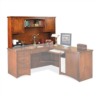 Mission Pasadena 36 H x 64 W Desk Hutch