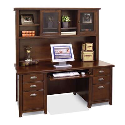 Tribeca Loft Executive Desk and Hutch Product Picture 4826