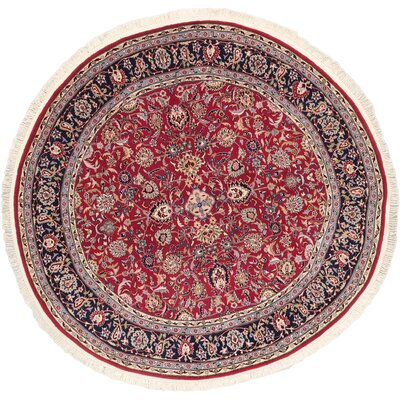 Dark Red Open Field Sino Persian Rug