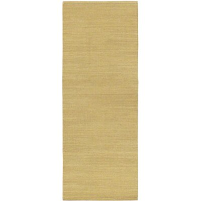 Open Field Natural Khaki Area Rug Rug Size: Runner 24 x 63