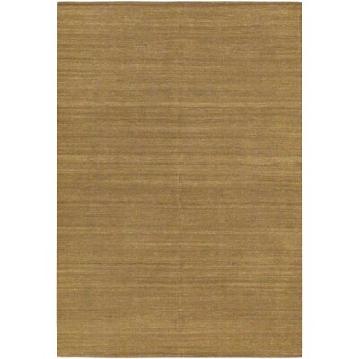 Open Field Natural/Brown Area Rug Rug Size: 57 x 710