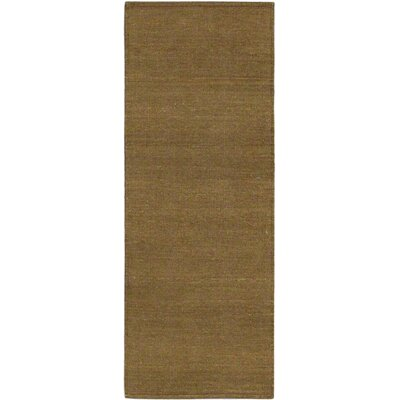 Open Field Natural/Brown Area Rug Rug Size: Runner 25 x 65