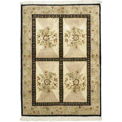 Opulence Beige Open Field Area Rug Rug Size: Rectangle 4 x 510