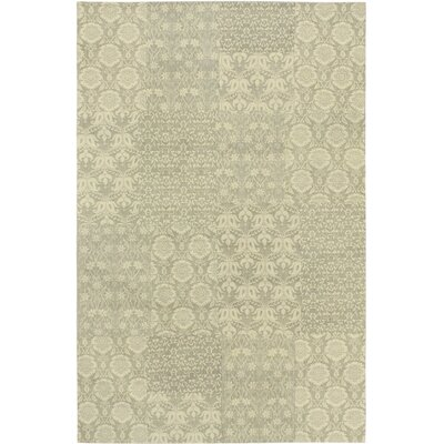 Collage Gray / Beige Patchwork Area Rug