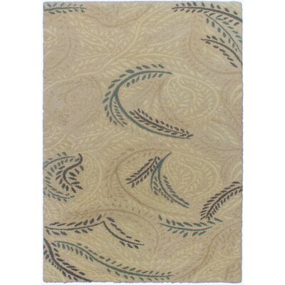 Prestige Light Cream Abstract Area Rug