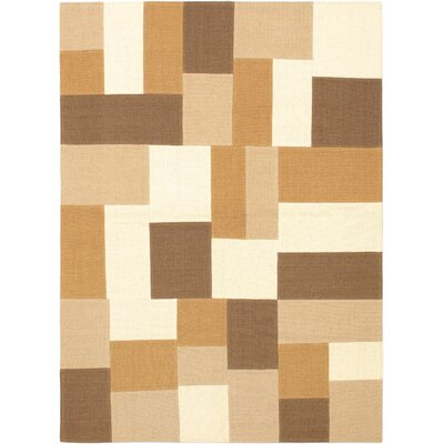 Beige Mosaico Open Field Area Rug