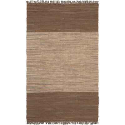 Sienna Beige/Brown Open Field Area Rug