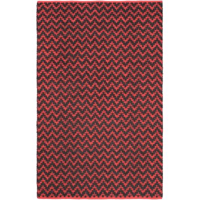 Passionata Red Open Field Rug