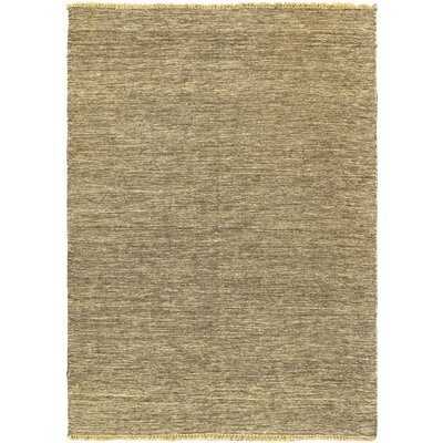 Natural Open Field Dark Brown Area Rug Rug Size: 47 x 67