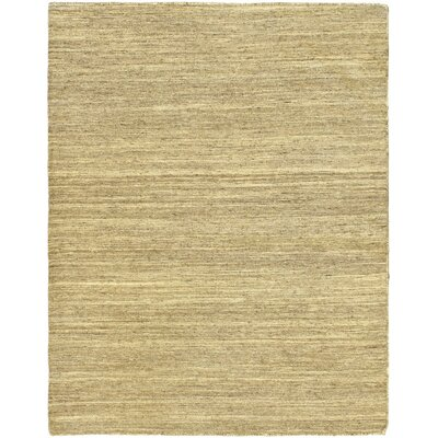 Open Field Natural/Beige Area Rug Rug Size: 410 x 62