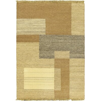 Open Field Light Beige Area Rug
