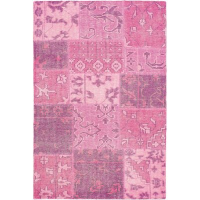 Ushak Patch Pink Area Rug