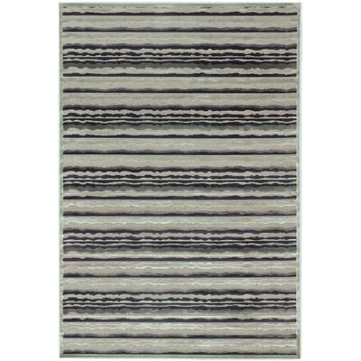Burmont Light Gray Open Field Rug