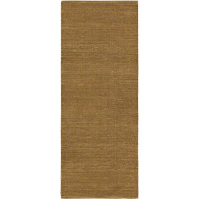Open Field Natural/Brown Area Rug Rug Size: Runner 25 x 63