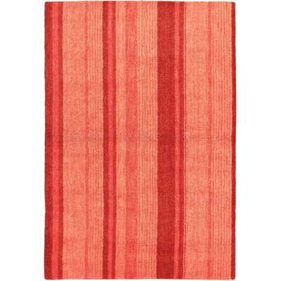 Moriah Pink Striped Area Rug