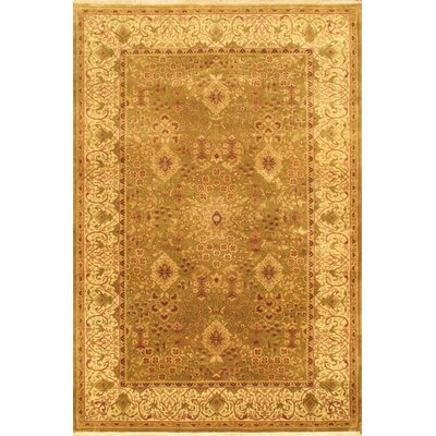 Brown Mirzapur Floral Area Rug