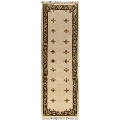 Karma Beige Open Field Area Rug