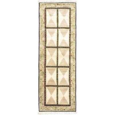 One-of-a-Kind Opulence Beige Open Field Area Rug