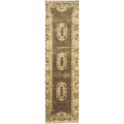 Silk Touch Dark Dull Yellow Open Field Area Rug