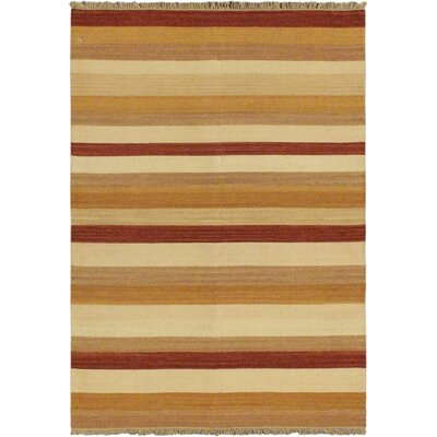 Fiesta Cream Striped Area Rug