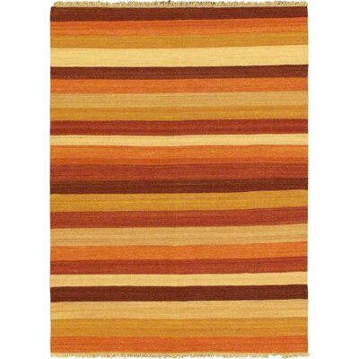 Fiesta Beige Striped Area Rug