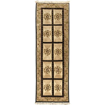 Opulence Brown Open Field Area Rug