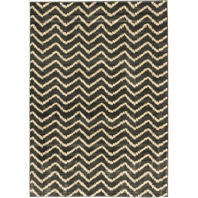 Atlas Marrakech Open Field Cream/Dark Gray Area Rug Rug Size: 710 x 1010